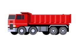 Dumper vehicle icon royalty free illustration