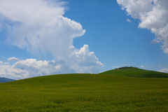 Minimalistic landscape Royalty Free Stock Photos