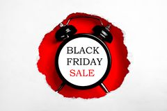 Minimalistic promo banners for black friday sale shopping event. stock photo