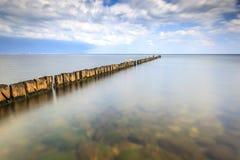 Minimalistic Seascape Royalty Free Stock Photo