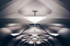 Minimalistic-U-Bahn Lizenzfreies Stockbild