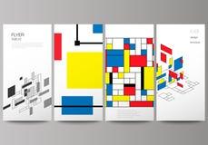 Minimalistic wektorowa ilustracja editable uk?ad ulotka, sztandaru projekta szablony Abstrakt poligonalny royalty ilustracja