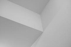 Minimalistic Zwart-wit Geometrische Achtergrond Royalty-vrije Stock Afbeeldingen