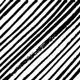 Minimalistische diagonale strepen zwart-witte achtergrond Royalty-vrije Stock Foto's
