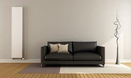 Minimalistische zitkamer vector illustratie