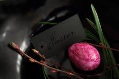 Minimalistyczna Wielkanocna dekoracja Zdjęcie Stock