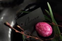 Minimalistyczna Wielkanocna dekoracja Fotografia Stock