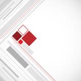 Minimalizmu kwadratowy abstrakcjonistyczny tło Ilustracja Wektor