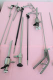 Minimally invasive surgery equipments Stock Photo