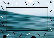 Minimalni wektor pokrywy projekty Przyszłościowi Plakatowi szablony abstrakcjonistyczni tła ilustracja wektor