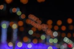 Minimalny bożonarodzeniowe światła tło fotografia stock