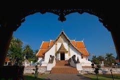 minimalny Nan phu Thailand wat Zdjęcia Royalty Free