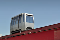 Minimetro, an automated people mover on rail. Stock Images