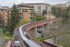 Minimetro in Perugia Stock Photo