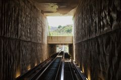 Minimetro Railway Perugia Royalty Free Stock Photo