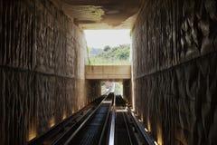 Minimetrospoorweg Perugia Royalty-vrije Stock Foto