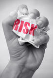 Minimizing risk Royalty Free Stock Image