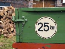 Minimum speed Royalty Free Stock Photo