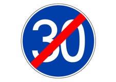 minimum speed in the road traffic sign vector illustration