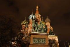 minin μνημείο pozharsky Στοκ φωτογραφία με δικαίωμα ελεύθερης χρήσης