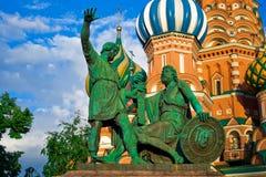 Minin et pozharskiy Photos libres de droits