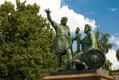 Minin & Pozharsky monument Stock Images
