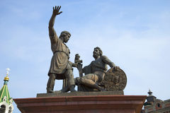 Minin and Pozharsky. Monument in Nizhny Novgorod Royalty Free Stock Photography