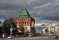 Minin and Pozharsky square in Nizhny Novgorod. Russia Royalty Free Stock Photography