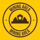 Mining area Stock Image