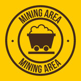 Mining area Royalty Free Stock Photography