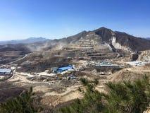 Mining area Royalty Free Stock Photography