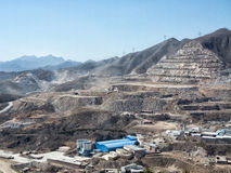 Mining area Royalty Free Stock Images