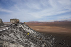 Mining in the Atacama Desert of Northern Chile Royalty Free Stock Photography