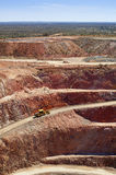 Mining Australia. Mining in Australia at the Cobar mine site Stock Photo