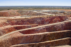 Mining Australia. Mining in Australia at the Cobar mine site Royalty Free Stock Photography