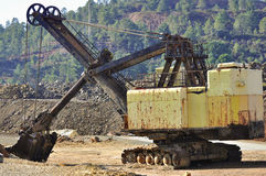 Mining big machines backhoe - Riotinto Stock Image