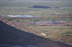 Remote Mining camp Royalty Free Stock Photos