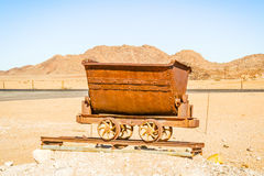 Mining Cart Stock Photography