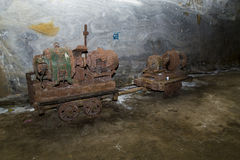 Mining cart Royalty Free Stock Photo