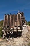 Mining Chutes royalty free stock photography