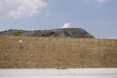 Mining coal pile Stock Image