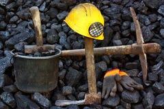 Mining coal Royalty Free Stock Photo