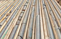 mining core samples Royalty Free Stock Photos