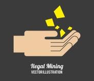 Mining design Stock Photos
