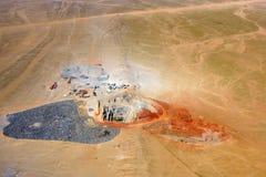 Mining development, quarry, Namibia Stock Photos