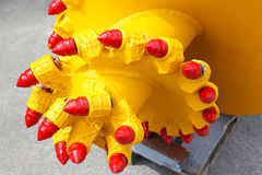 Mining drill head Stock Photography