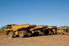 Mining Dump Truck Royalty Free Stock Photography