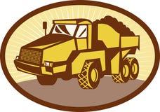 Mining dumper dump truck Royalty Free Stock Image