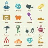 Mining elements Stock Photos