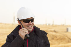 Mining engineer. Directs the work in mining Stock Image